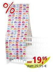 Betthimmel Elefanten 100 x 300 cm