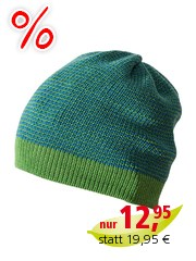 Disana Baby Mütze Beanie dunkelgrün Gr.42-46