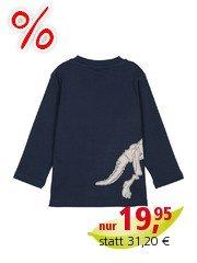 Frugi Kinder Langarmshirt Dino Gr.6 (2-3Jahre)