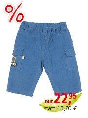 Frugi Baby und Kinder Cordhose blue Gr.3 (6-12Monate)