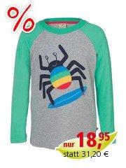 Frugi Kinder Langarmshirt Spider Gr.6 (2-3 Jahre)
