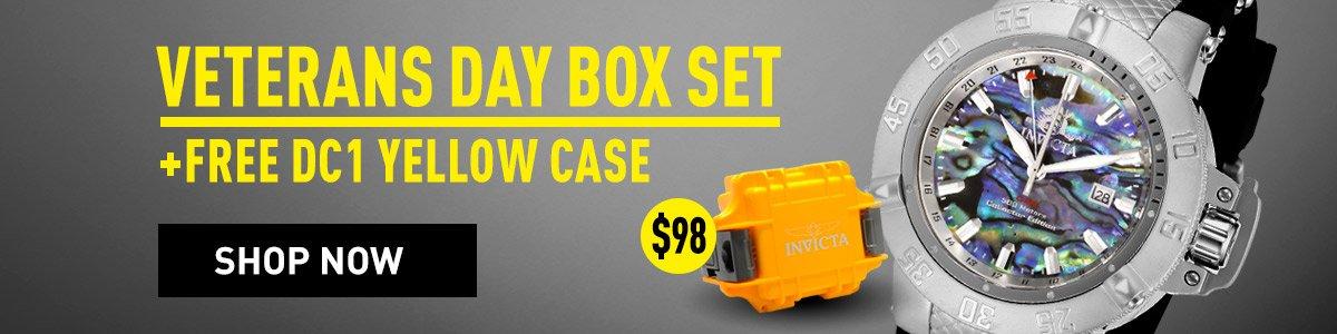 Invicta veteran day box set