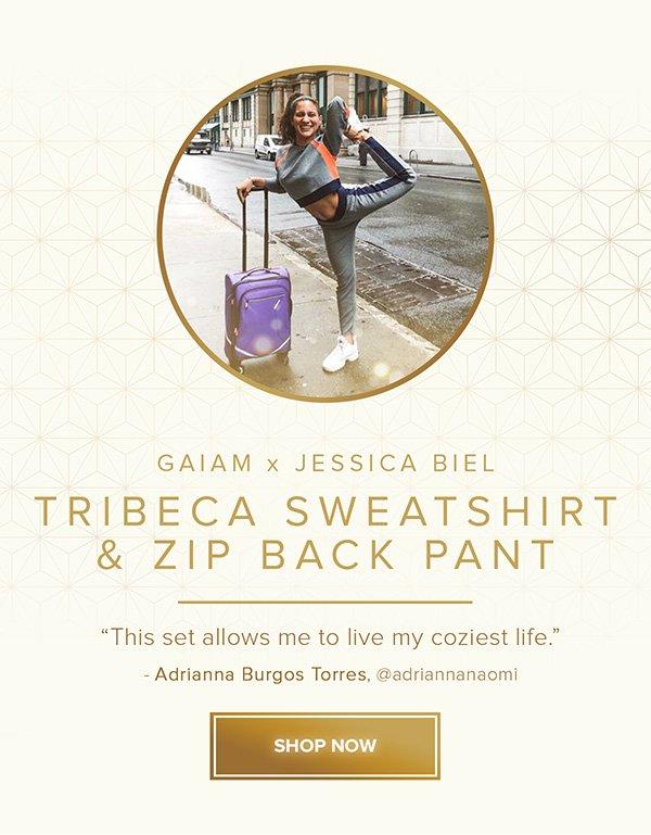 Tribeca Sweatshirt & Zip Back Pant - Shop Now