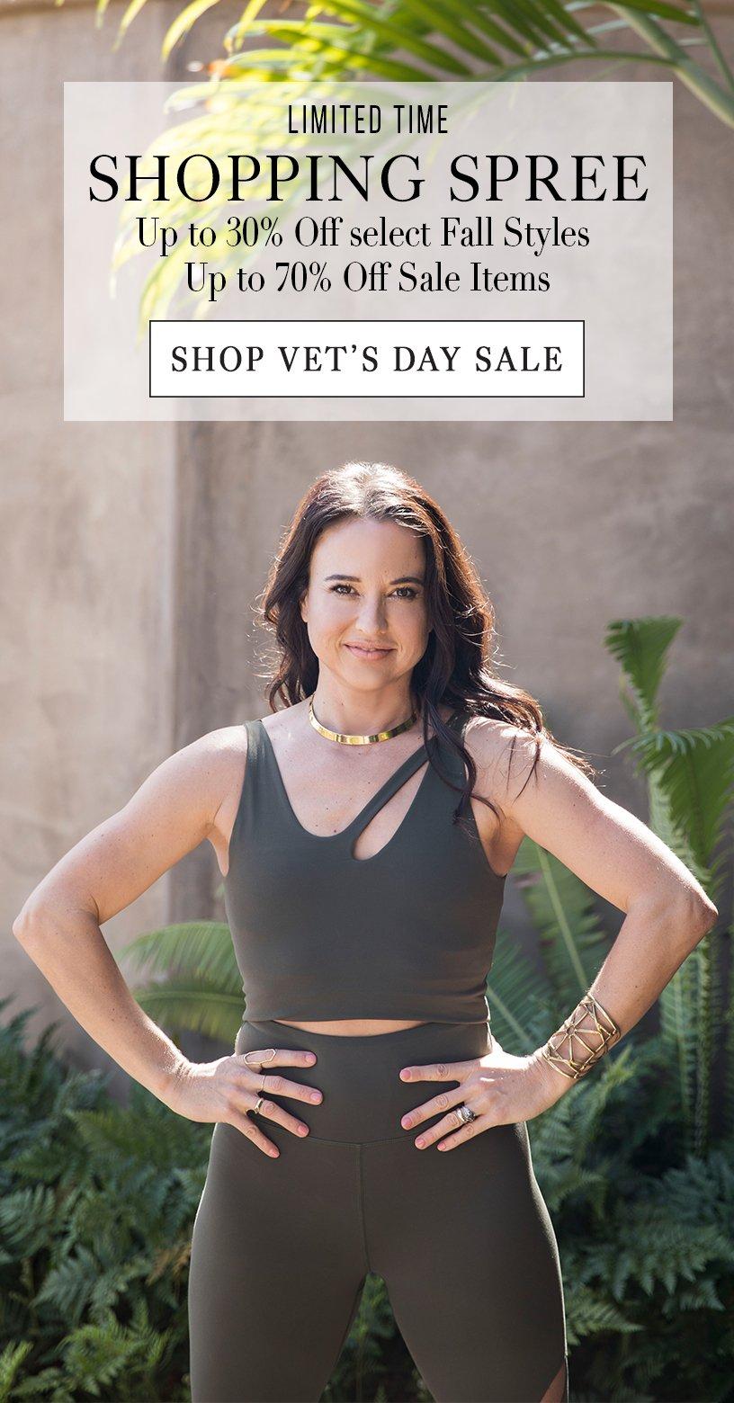 Vet's Day Sale
