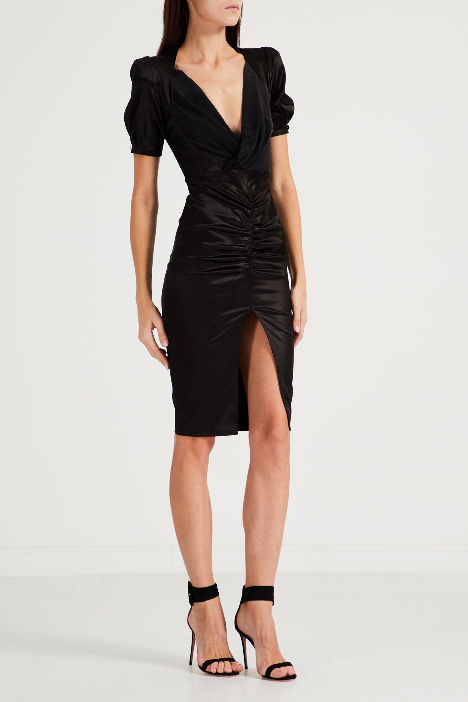 Фото - Черное платье с...