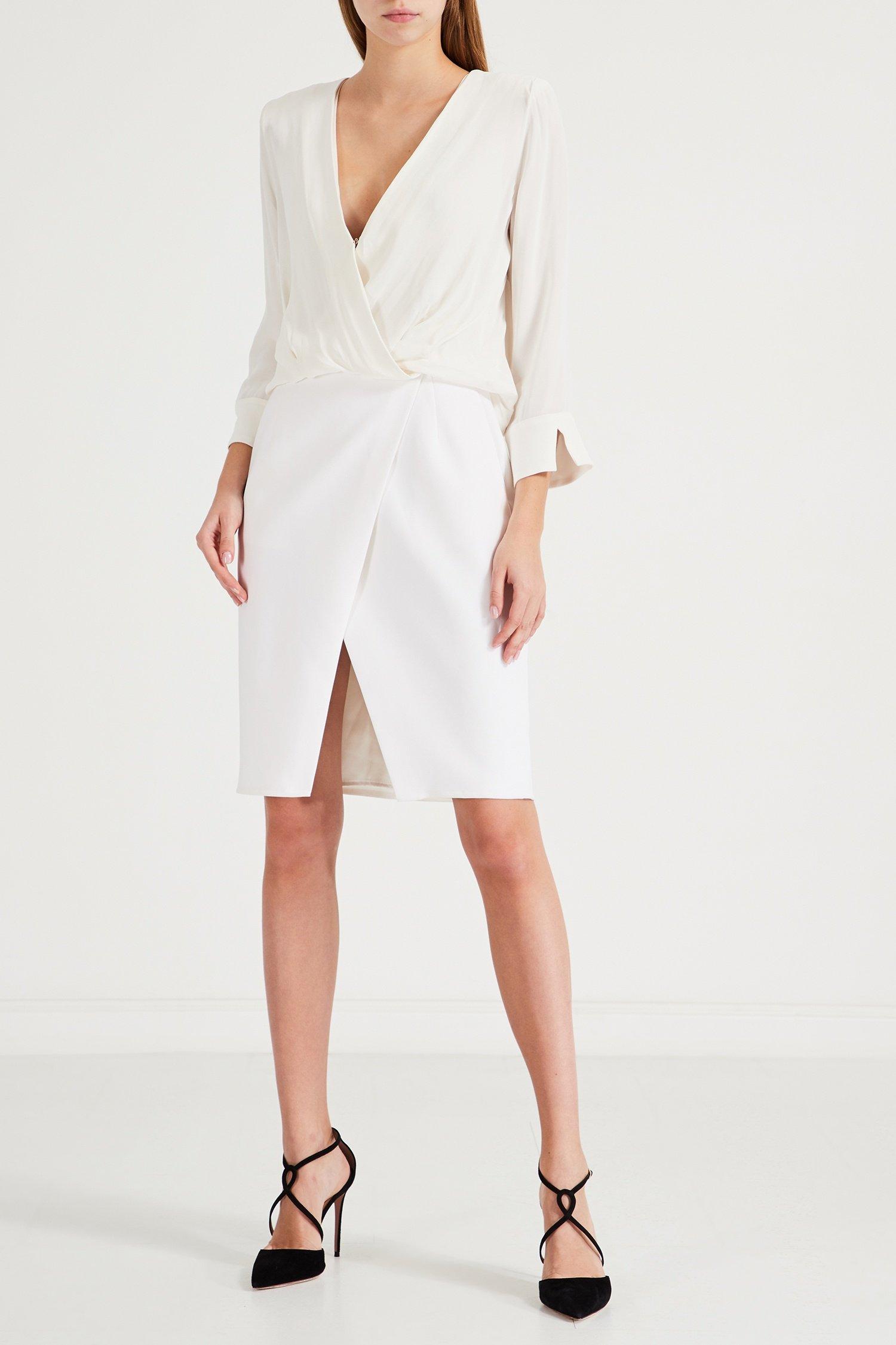 Фото - Белое платье с...