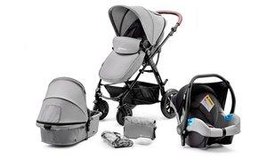 Kinderkraft Three-in-One Stroller