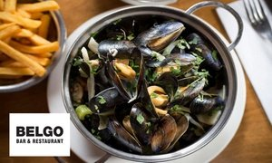 Belgo: Two-Course Meal for Two