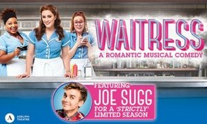 35% Off tickets to see Waitress