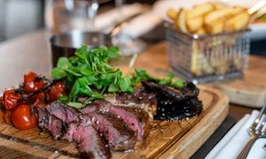 4* Steak Meal with Bottle of Wine
