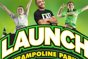 EXTENDED! Launch Herndon Trampoline Park Open Jump Passes