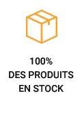 100% des produits en stock