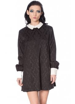 Mrs Not Nice Jacquard Dress