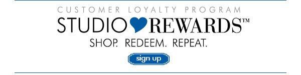 Sign Up for Studio Rewards