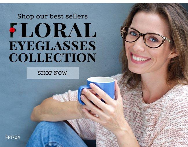 Shop our best sellersFloral eyeglasses collectionShop now
