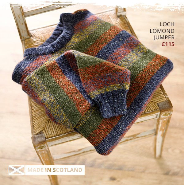 Loch Lomond Jumper £115