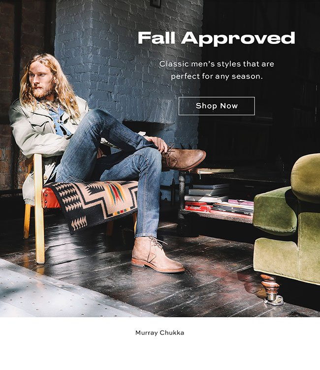 Fall Approved Shop Now