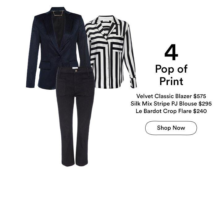 Pop of Print - Shop Holiday Dressing