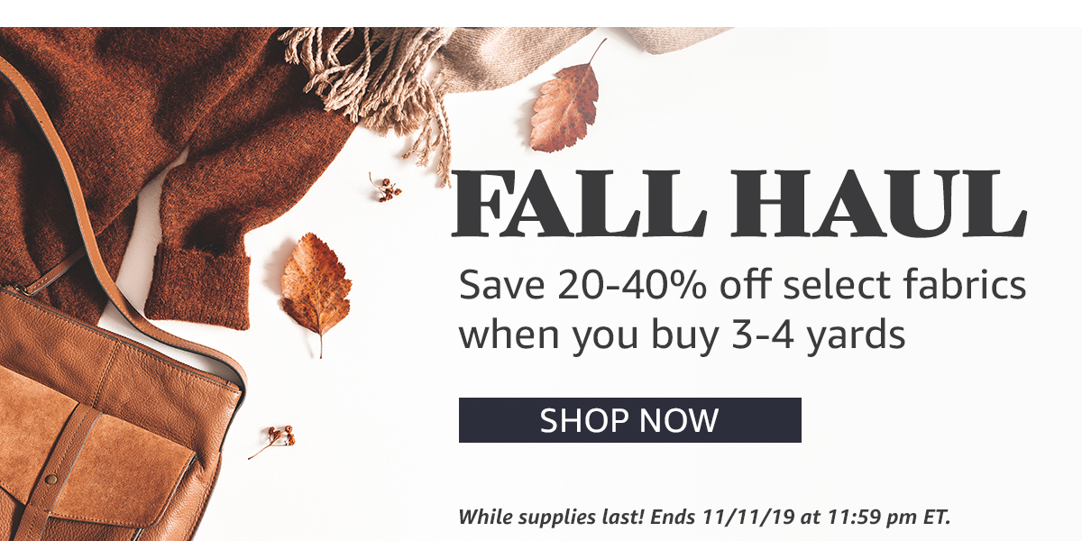 Fall Haul   SHOP NOW