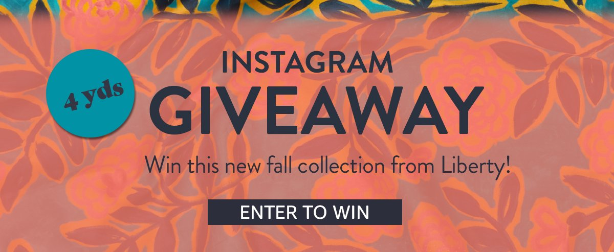 Instagram Giveaway   ENTER TO WIN