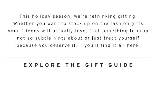 Gifts for everyone (and yourself)