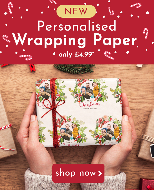 New Product - Personalised Wrapping Paper