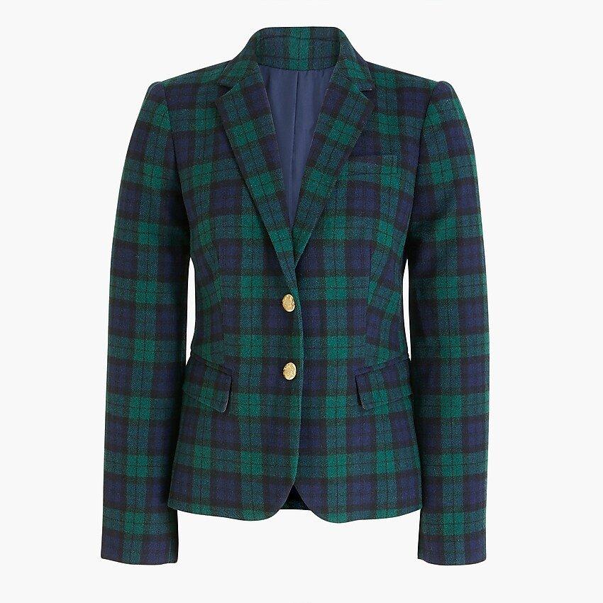 Patterned schoolboy blazer
