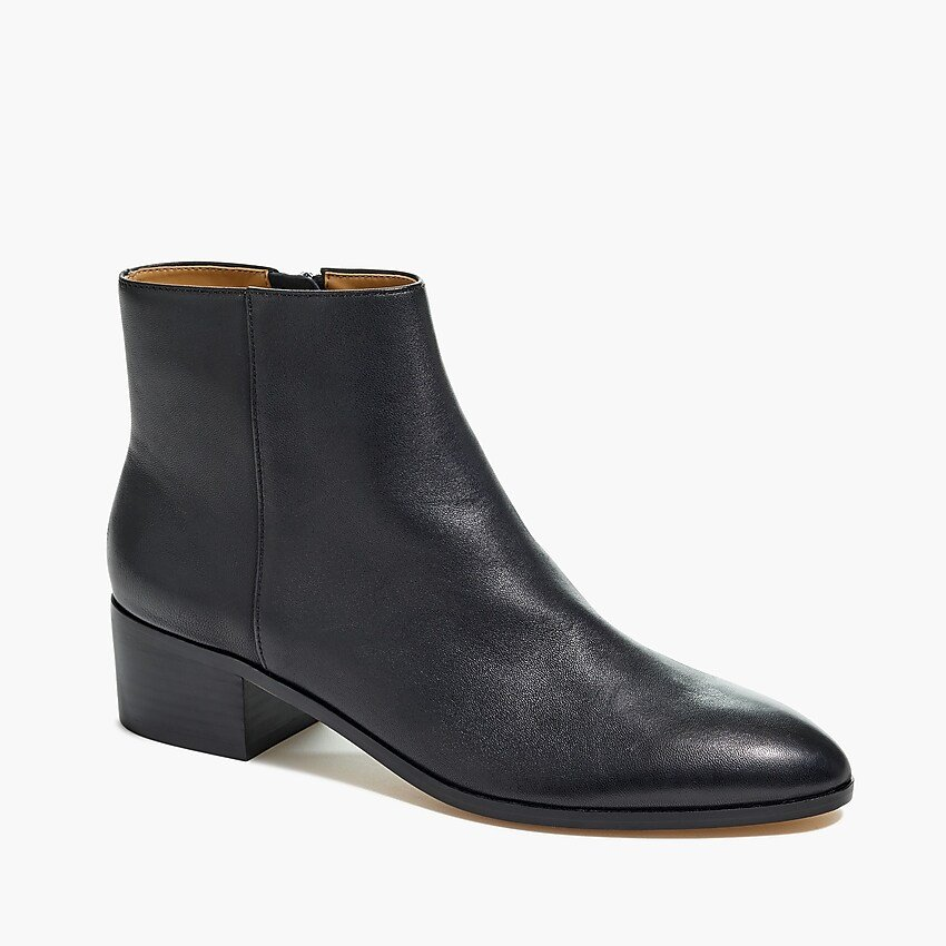 Walker leather ankle boots