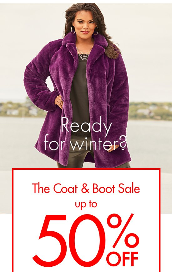 The Coat and Boot Sale | Up to 50% off