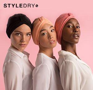 StyleDry Turban Shower Caps