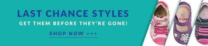 Shop Last Chance Styles