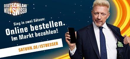 Deutschland will's wissen - Online bestellen, im Markt bezahlen.