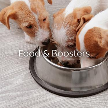 Shop Food & Boosters
