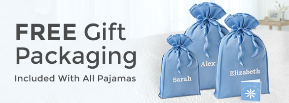 FREE Gift Packaging included with all pajamas