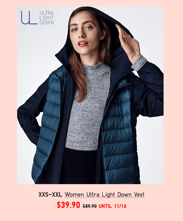 BODY4 - WOMEN ULTRA LIGHT DOWN VEST