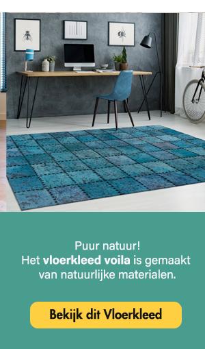 Arte Espina Voila Vloerkleed Turquoise