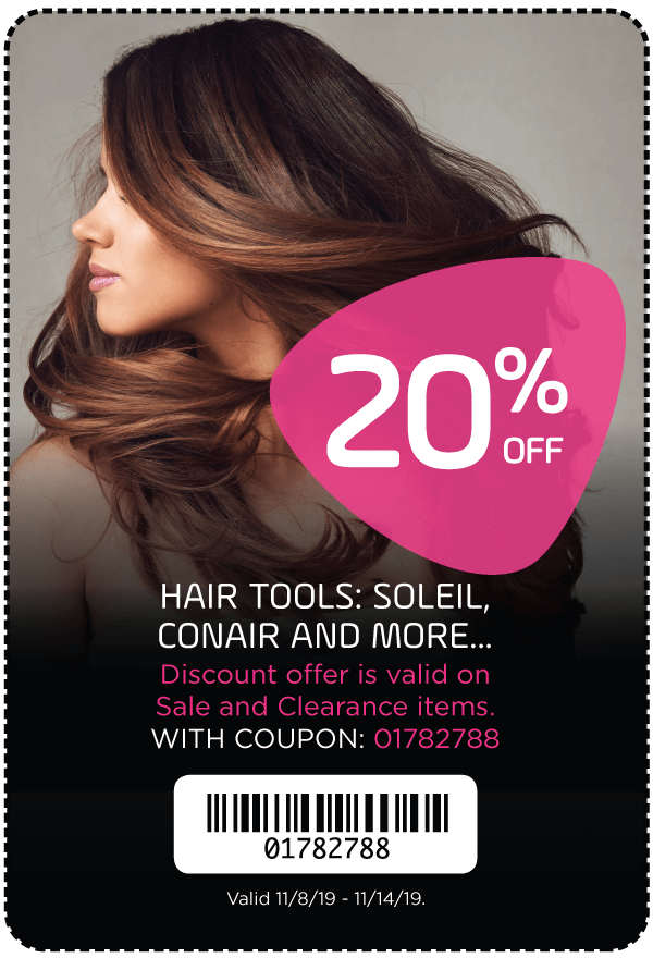 20% Off - Hair Tools