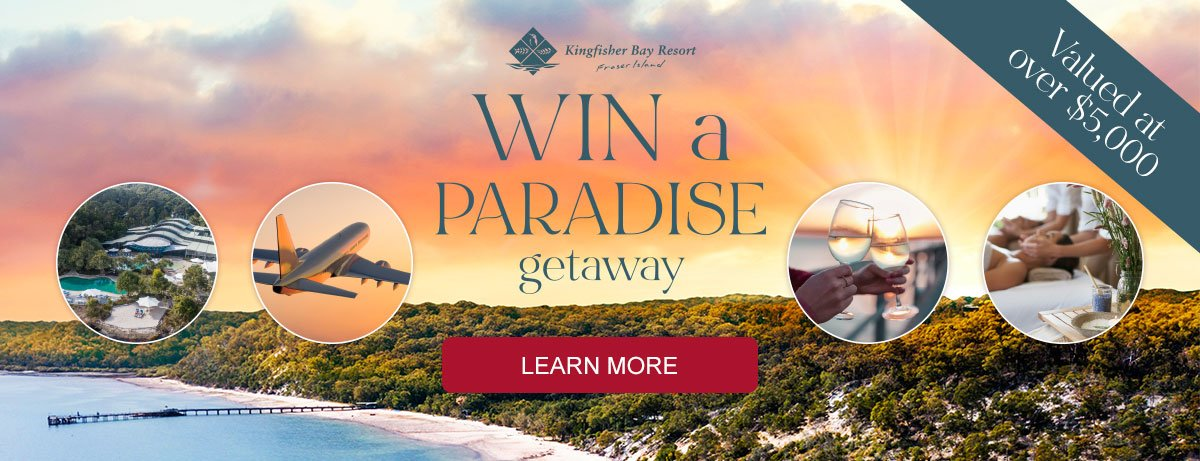 SHOP for a chance to win a paradise getaway