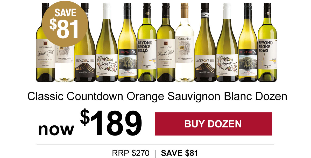 Classic Countdown Orange Sauv Blanc - save $81!