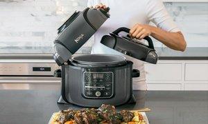 Ninja Foodi Pressure Cooker, Steamer, & Air Fryer Set (Refurbished)