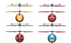 Marvel, DC, or Harry Potter Licensed Hand-Sensor Ball Helicopter
