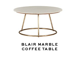 BLAIR MARBLE COFFEE TABLE
