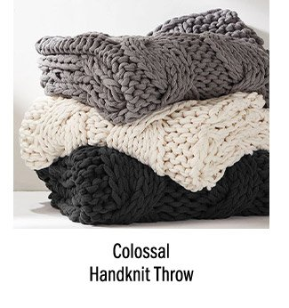 Colossal Handknit Throw