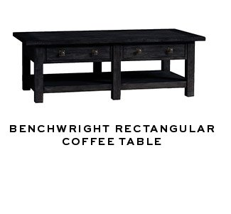BENCHWRIGHT RECTANGULAR COFFEE TABLE
