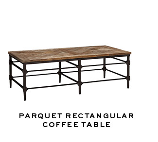 PARQUET RECTANGULAR COFFEE TABLE