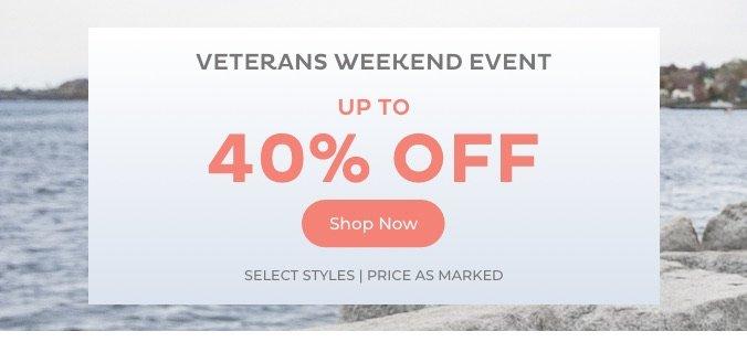 Veterans Weekend Event