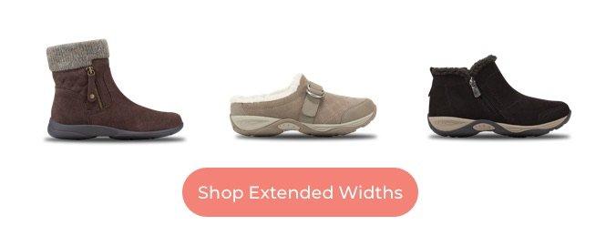 Shop Extended Widths