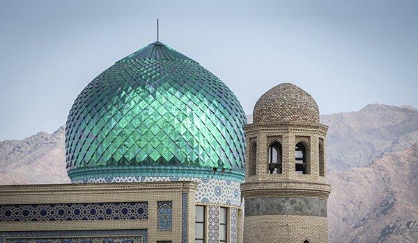 Jami Mosque in Tajikistan.
