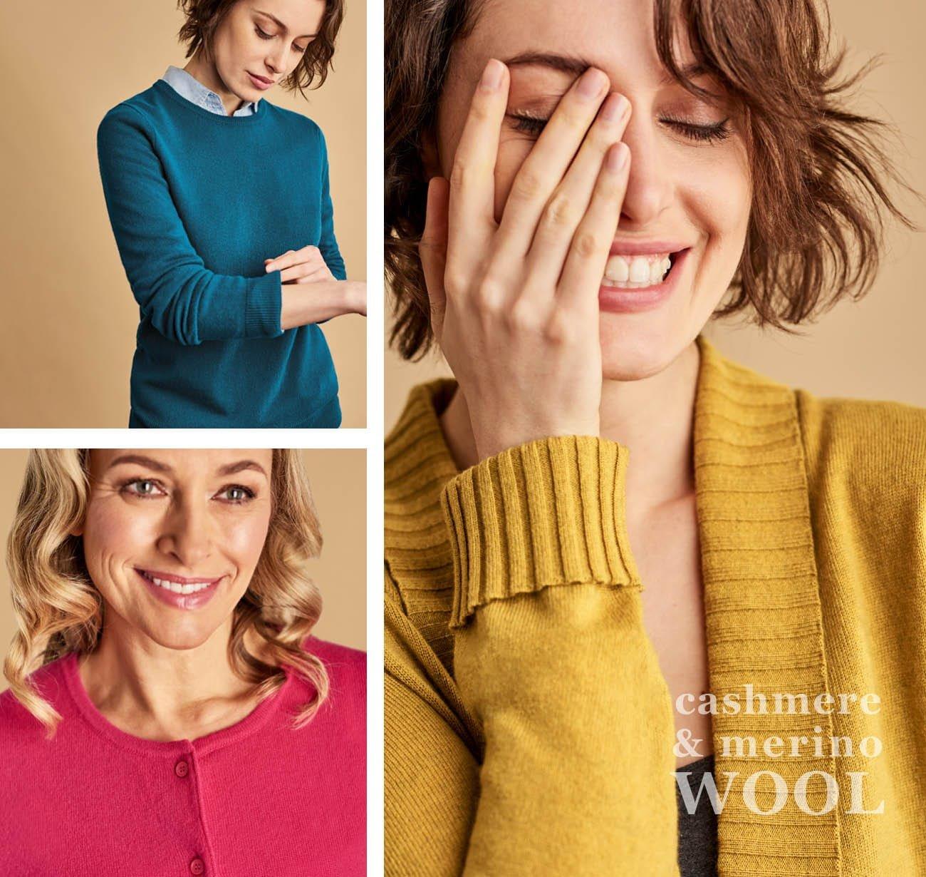 Women's Cashmere & Merino Knitwear