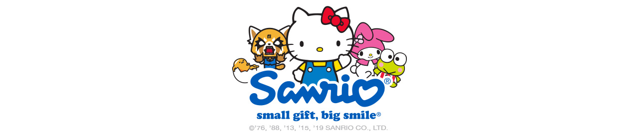 Sanrio. Small Gift, Big Smile.